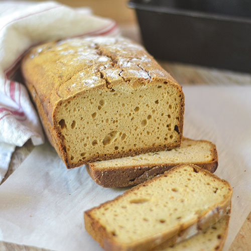 GF Sourdough Honey Bread l #bread #sourdough #honey #glutenfree | feedyoursoul2.com