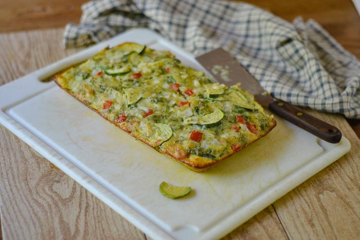 Best Zucchini Bake l #zucchini #glutenfree #appetizer | feedyoursoul2.com