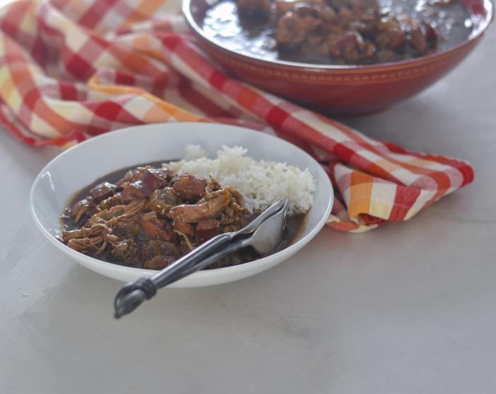 Best Chicken & Sausage Gumbo l #chicken #glutenfree #beefsausage #gumbo | feedyoursoul2.com