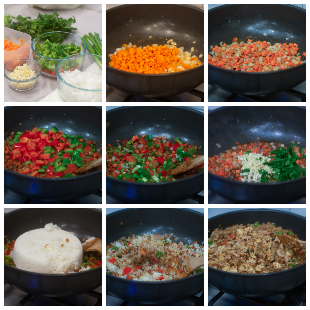 Building and Developing the Fried Rice
