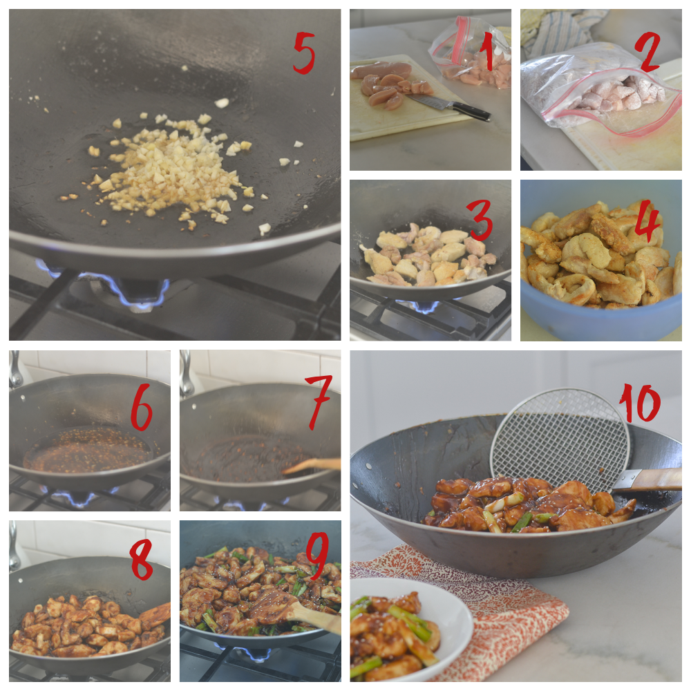 Creating the Chinese Sichuan Chicken