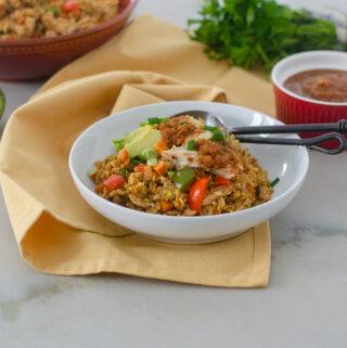 Ecuadorian Chicken Fried Rice