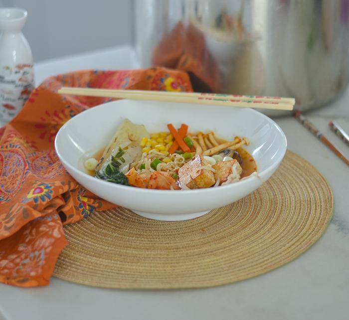 Homemade Chicken Ramen l #chicken #glutenfree #japaneserecipe #Soup | feedyoursoul2.com