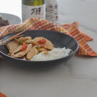 Korean Chicken & Vegetables