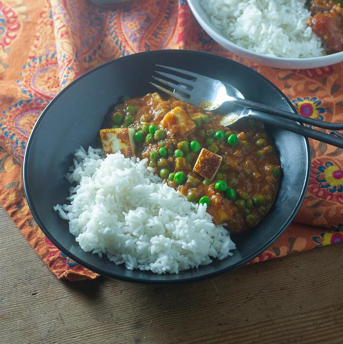 Healthy Matar Paneer l #Vegetarian #Indianrecipe #glutenfree  | feedyoursoul2.com