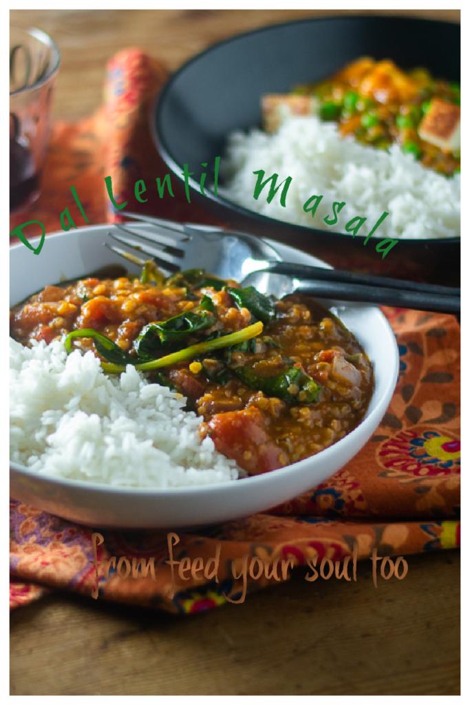 Dal Lentil Masala l #lentils #glutenfree #masala #indianfood | feedyoursoul2.com