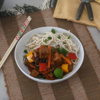Vegan Chinese Tofu