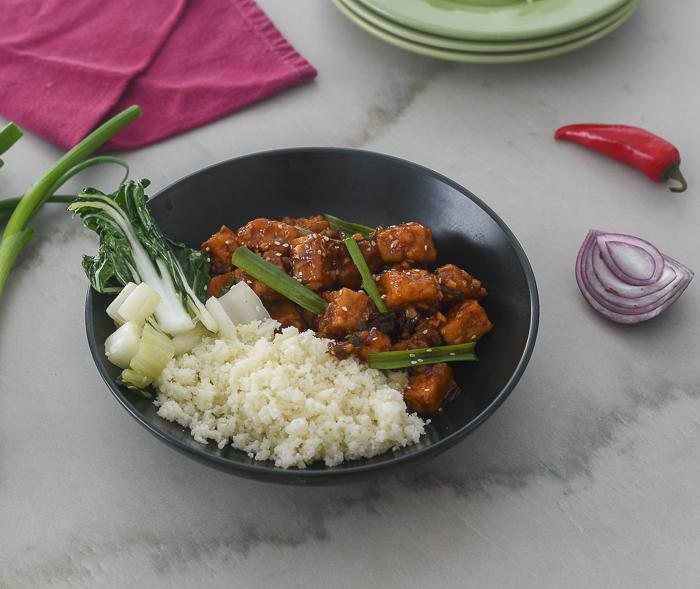Spicy Asian Tofu l #tofu #Asianrecipe #glutenfree  | feedyoursoul2.com