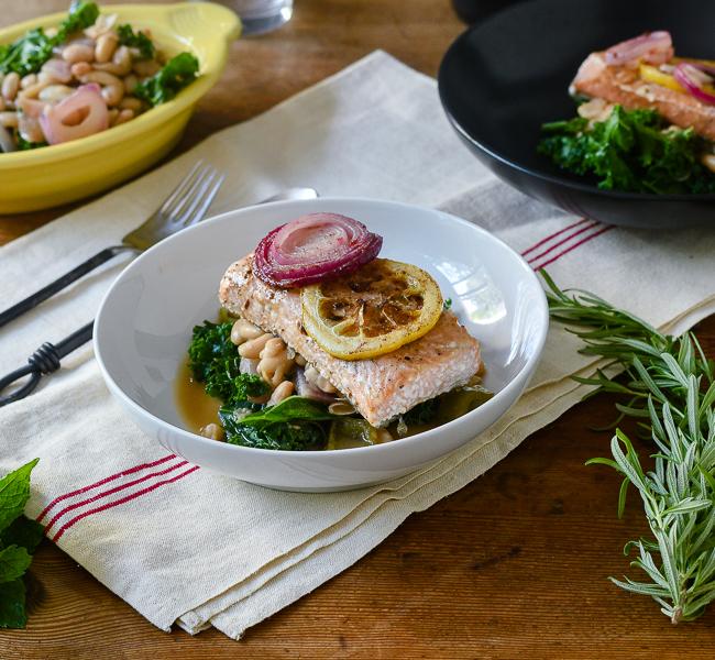 Simple Butter Roasted Salmon l #salmon #Butter #glutenfree   feedyoursoul2.com