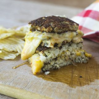 Cauliflower (Crust) Bread Grilled Cheese