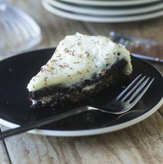 GF Chocolate Cake Cream Cheese Frosting