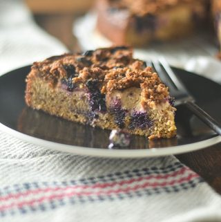 Gluten Free Blueberry Cheesecake