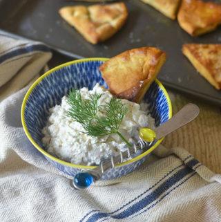 Greek Feta Dip (Tirokafteri)