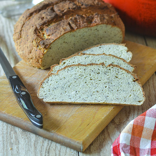 Feed Your Soul Too: Gluten Free Flax Bread