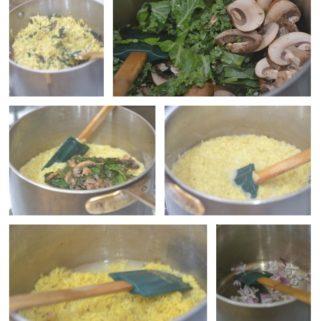 GF Mushroom Pesto Pasta