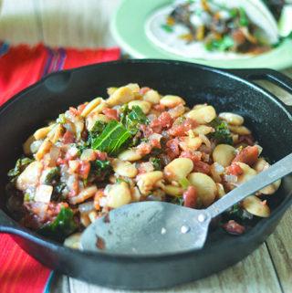Butter Bean Kale Stew