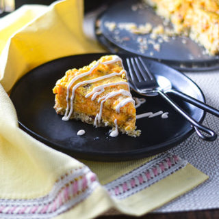 Andouille & Smoked Cheddar Savory Cheesecake