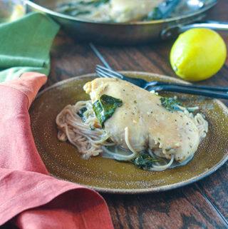 Lemon Chicken & Spinach
