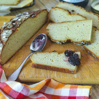 GF Sourdough Discard Bread
